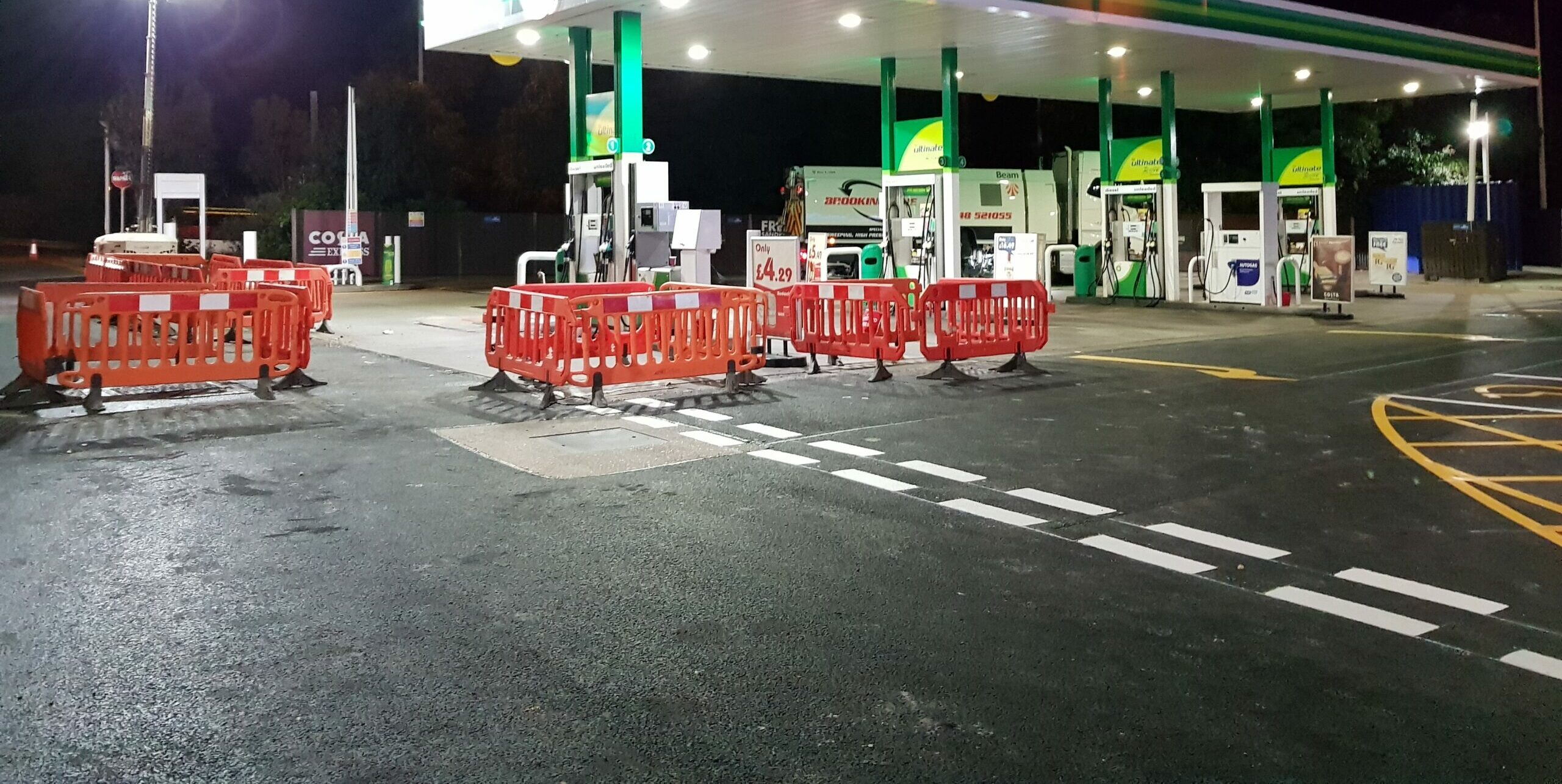 OUTCO Walthamstow Services Civils Project