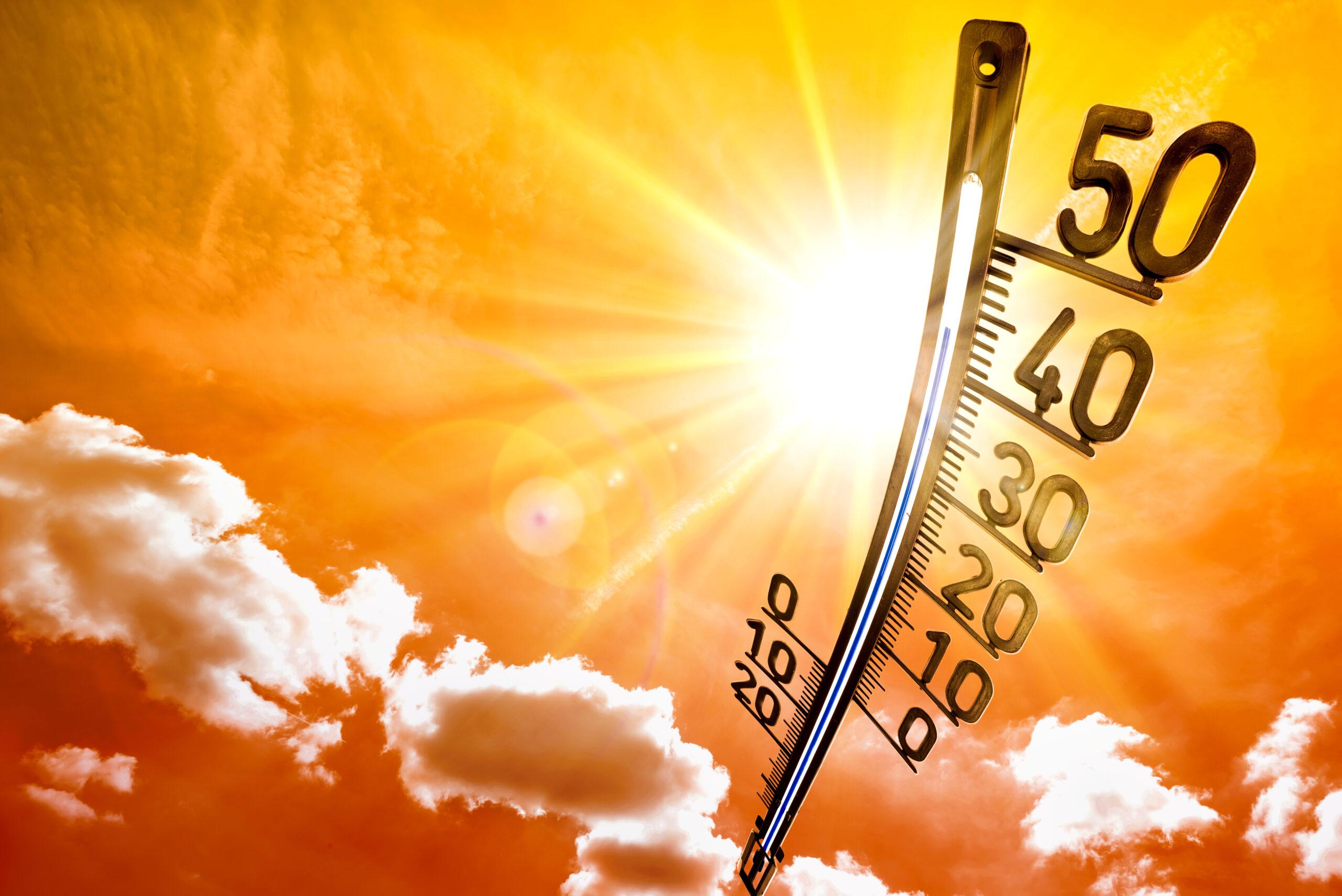 Summer temperatures