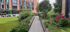 Leeds University grounds